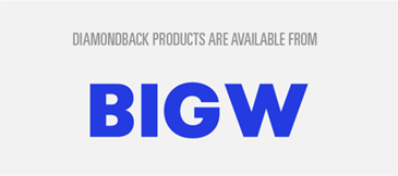 Diamondback Products Are Available From Big W-01